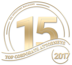 Top 15 Corporate Attorneys Badge